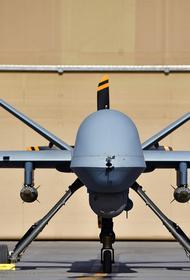 Появилось видео с американским дроном MQ-9 Reaper, снятым из кабины предположительно самолета ВКС России