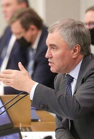 Володин заявил, что единая цифровая платформа занятости поможет россиянам в поисках работы