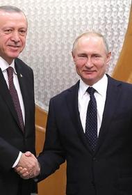 Путин и Эрдоган обсудили возможные поставки российских вакцин в Турцию и ситуацию в Карабахе