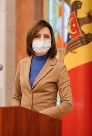 Санду заявила, что Молдавия стала заложницей собственного парламента