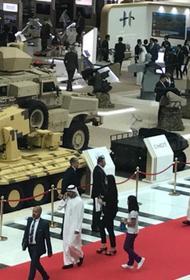 Украина представляет на выставке в Абу-Даби переделанные образцы советского вооружения, как перспективные