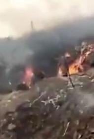 Самолёт ВВС Нигерии разбился при заходе на посадку