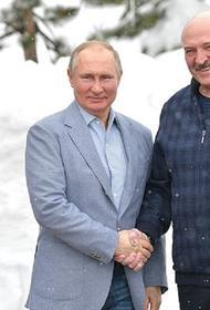 В Сочи проходят переговоры Путина и Лукашенко