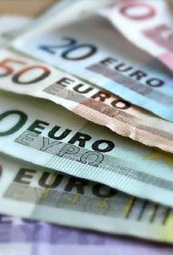 Курс евро в понедельник вырос до 91 рубля