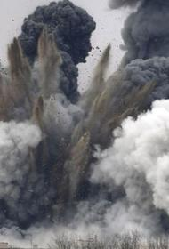 В сирийской пустыне  ВКС РФ нещадно бомбят отряды «чёрного халифата»