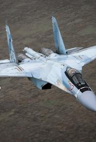 Появилось видео ударов ВКС России по джихадистам после их попытки атаки на армию Сирии