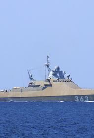 Корабельные силы и береговые ракетные комплексы ЧФ отработали  уничтожение условного противника на море