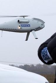 Украинские военные сбили беспилотник наблюдателей ОБСЕ