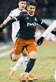 «Локомотив» побеждает ЦСКА - 2:0