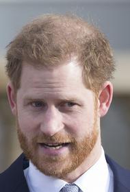 Принц Гарри признался, что уехал в США ради спасения своей психики