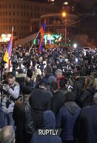 Три демонстрации политических противников пройдут в Ереване в понедельник, 1 марта