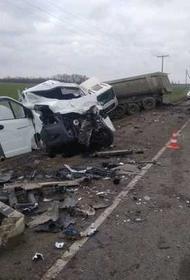 В результате ДТП на Кубани погиб водитель грузового автомобиля