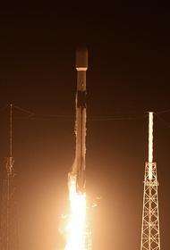 Запуск ракеты-носителя Falcon 9 отменили примерно за полторы минуты до старта
