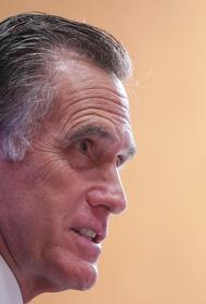 Американский сенатор Митт Ромни упал в обморок и разбил лицо