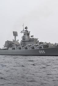 Ракетный крейсер «Маршал Устинов» вышел в Баренцево море