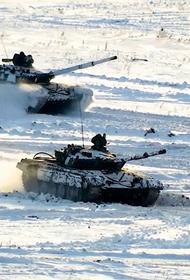 Мотострелки ЦВО при поддержке танков и артиллерии уничтожили крупные силы условного противника на учении