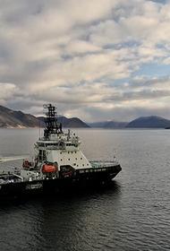 Ледокол «Илья Муромец» вышел в море для участия в комплексной экспедиции Северного флота и РГО