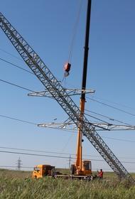 Кубанские энергетики отремонтируют 17 высоковольтных ЛЭП в Тимашевском районе