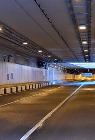 В Лефортовском тоннеле столицы столкнулись 5 автомобилей