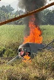 В ЦАР разбился вертолет с российскими военными на борту