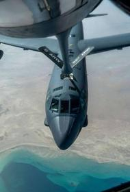 B-52 поднялись с территории США и совершили предупредительный облет Ближнего Востока