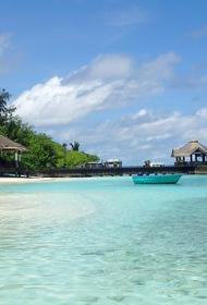 Виторган и Нинидзе отдыхают с сыновьями на океане. У Платона на Мальдивах «занятия по расписанию»