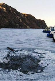 Теплая зима сделала ледовую обстановку на Байкале небезопасной для туристов