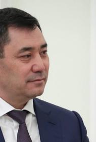 Глава Киргизии прибыл в Ташкент с официальным визитом