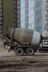 Бетономешалка опрокинулась в Подмосковье, один человек погиб