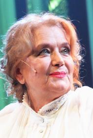 Актриса Ирина Алферова празднует юбилей