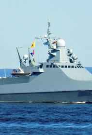 Патрульный корабль «Павел Державин» и комплексы «Бастион» Черноморского флота отработали уничтожение вероятного противника
