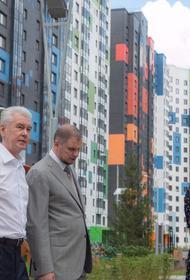 Собянин осмотрел новостройку, готовую к заселению по Программе реновации