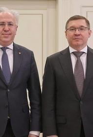 Охрану природы обсудили Владимир Якушев и Рашид Исмаилов