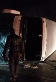 Второе за сутки ДТП с участием пассажирского автобуса произошло в Рязанской области