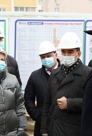Губернатор Кубани проинспектировал долгострои в центре Краснодара