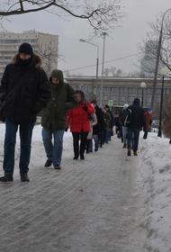 «Желтый» уровень погодной опасности объявили в Москве и области
