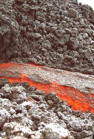 У кратера Ключевского вулкана заметили туристов, жарящих сосиски на лаве