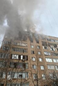 Очевидцы рассказали о ЧП в многоэтажном жилом доме в Химках в Подмосковье