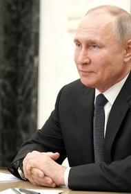 Путин считает, что воссоединение Крыма и России говорит об укреплении государства