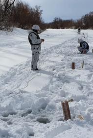 Военные инженеры ЦВО готовятся к борьбе с ледоходом на реках Удмуртии