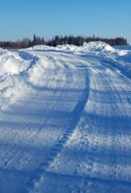 200-километровый зимник открыт в Хабаровском крае