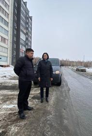 Мэр Челябинска лично проверила, как в городе убирают снег