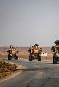 Большая военная колонна ВС США вошла на территорию Сирии из сопредельного Ирака