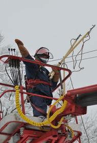 Энергетики восстановили энергоснабжение в Адыгее, нарушенное снегопадом