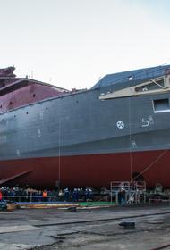 На «Невском судостроительно-судоремонтном заводе» заложили первый серийный средний морской танкер для ЧФ