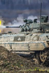 В Калининградской области мотострелки тренируются уничтожать технику условного противника с безопасной дистанции
