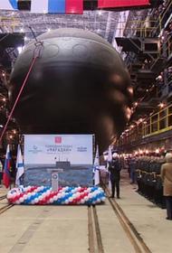 Питерское специализированное предприятие спустило на воду субмарину проекта 636.6