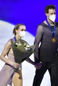 Навка поздравила Жулина с золотом Синициной и Кацалапова на ЧМ в Стокгольме: «с таким тренером теперь только к Олимпиаде»