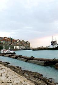 Reuters: снятый с мели контейнеровоз Ever Given вновь перекрыл Суэцкий канал