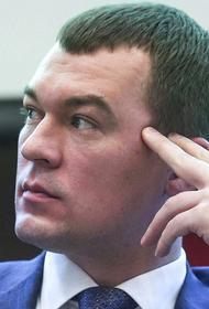 «Незыгарь» отправил врио главы Хабаровского края в список «губернаторов под ударом»